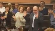 Daniël Termont verlaat gemeenteraad onder luid applaus en staande ovatie