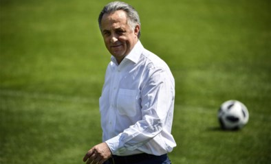 Vitaly Mutko stapt op als voorzitter Russische voetbalbond