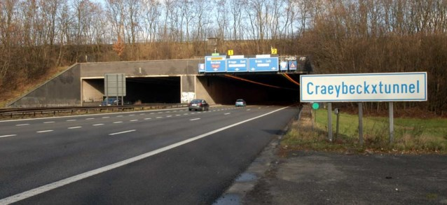 Opgelet: Weldra trajectcontrole in Antwerpse Craeybeckxtunnel