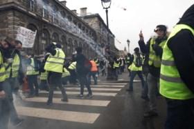 Gele hesjes in Antwerpen: 50 manifestanten aangehouden