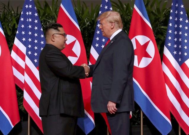 """Donald Trump spreekt over nieuwe ontmoeting met Kim Jong-un na """"geweldige"""" brief uit Noord-Korea"""