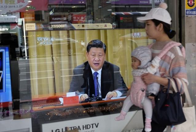 """Chinese president stuurt aan op hereniging met Taiwan: """"China moet en zal verenigd zijn"""""""