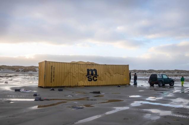 Rederij gaat zoeken naar verloren containers in Noordzee