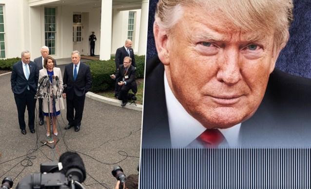 Overleg shutdown draait op niets uit, Trump reageert op Twitter zoals alleen hij het kan