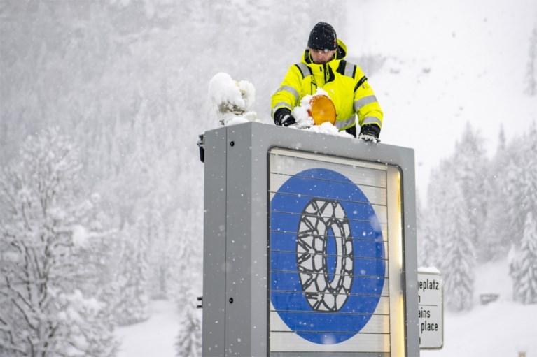 Oostenrijk evacueert skigebieden uit vrees voor aanhoudende sneeuwval