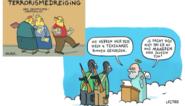 Cartoonisten Lectrr en AAaRGh vier jaar na aanslag Charlie Hebdo: