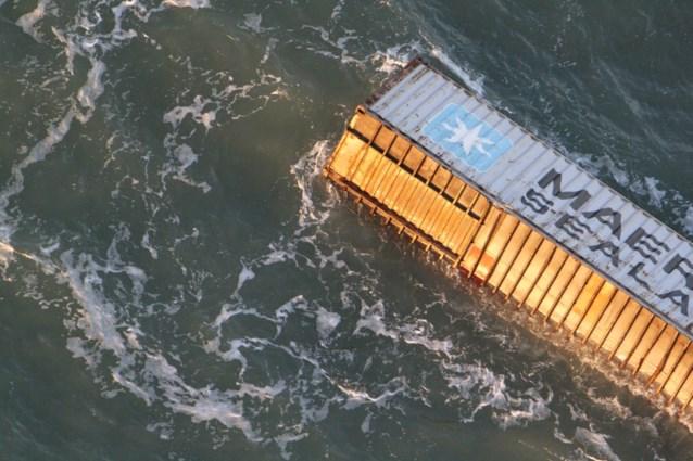 Berging containers op zijn vroegst maandag