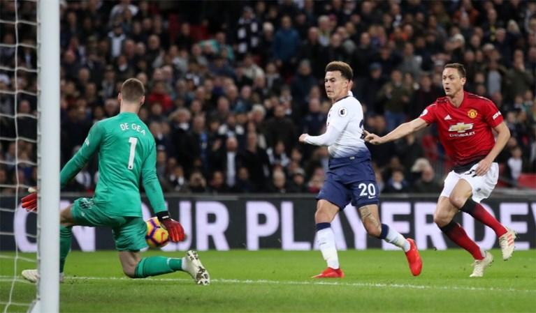Herboren Manchester United wint dankzij De Gea nu ook topper, Tottenham dreigt top twee te moeten laten gaan