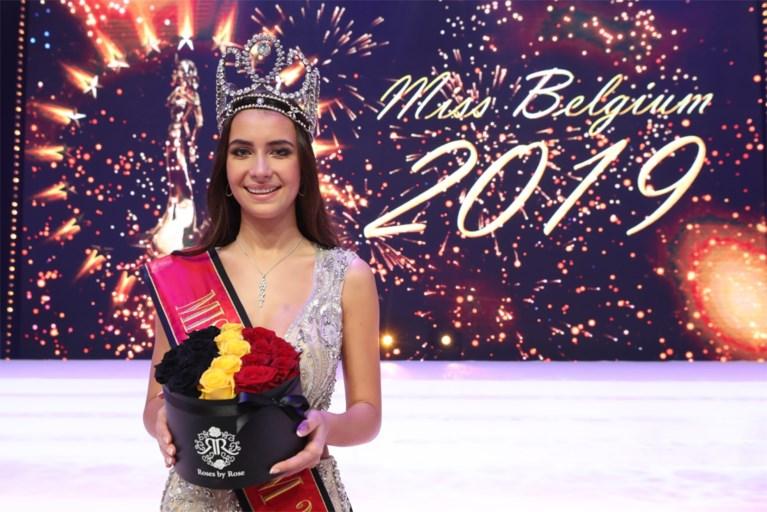 18-jarige Elena Castro Suarez volgt Angeline Flor Pua op en is Miss België 2019