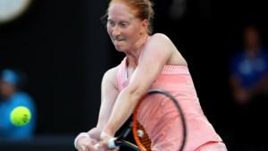 Van Uytvanck kan Wozniacki niet verrassen op Australian Open