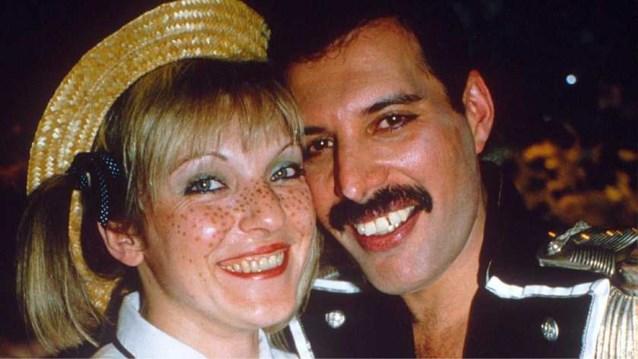 De enige vrouw in het leven van Freddie Mercury verdiende al 44 miljoen euro aan 'Bohemian Rhapsody'-film