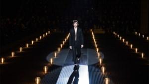 Freek werd gespot op de weide van Pukkelpop, nu staat hij op de catwalk voor Prada in Milaan