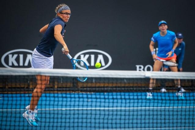 Australian Open: Nederlaag voor Flipkens in achtste finales dubbelspel