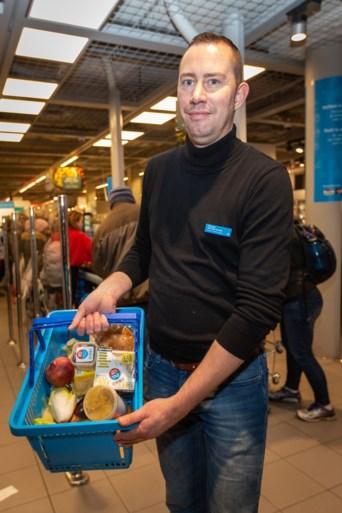 Vol winkelmandje met 'overschot' voor vier euro bij Albert Heijn