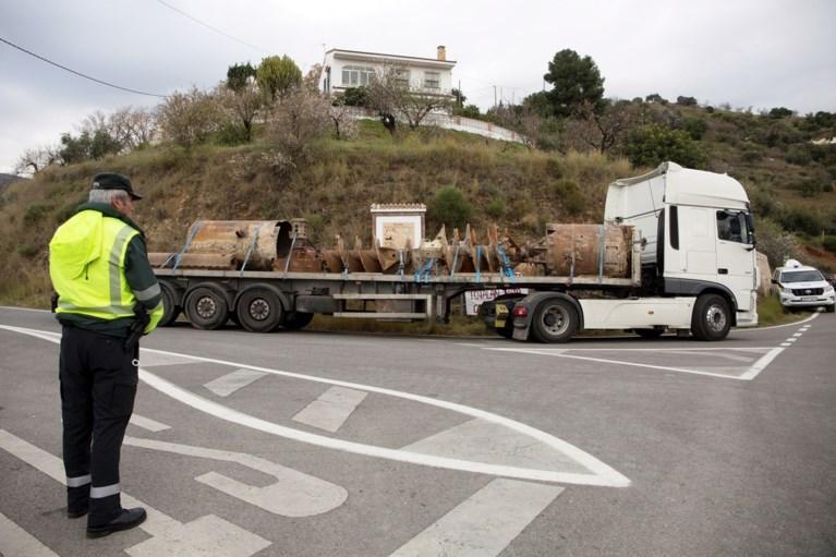 Tunnels naar Spaans kleutertje boren zal nog minstens tot maandag duren: regen op komst, hoop slinkt