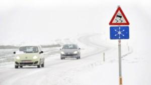 Code geel: eerste sneeuw valt, verkeer wordt mogelijk serieus in de war gestuurd