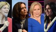 Allemaal willen ze naar de oval office: race voor presidentschap was nog nooit zo vrouwelijk