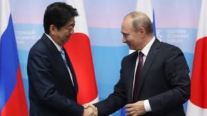 Russische president Poetin ontmoet Japanse premier over betwiste eilandengroep