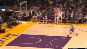 Pijnlijke afgang: NBA-ster Stephen Curry gaat twee keer de mist in, Shaquille O'Neal wrijft zich in de handen