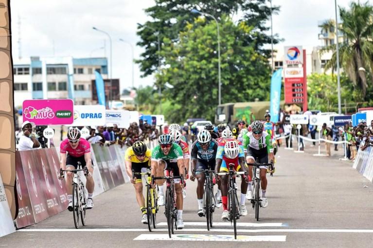 André Greipel kan ook niet van 18-jarige 'Remco-killer' winnen in Gabon, mysterie van fiets zonder renner is opgelost