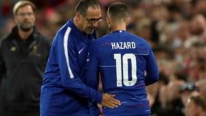 """Coach Sarri bevestigt komst van Gonzalo Higuain naar Chelsea maar is ook hard voor Eden Hazard: """"Hij kan beter"""""""