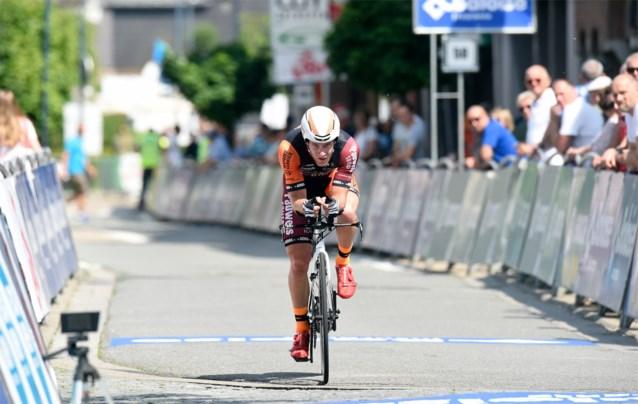 Grimbergen gastplaats voor individuele tijdrit Baloise Belgium Tour