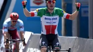 Elia Viviani is sneller dan Caleb Ewan en pakt de bloemen in Cadel Evans Great Ocean Road Race