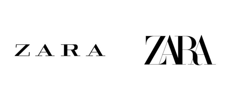Zara kiest voor nieuw logo
