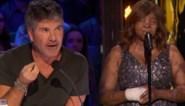 Vrouw die vliegtuigcrash overleefde stomverbaasd door reactie Simon Cowell in 'America's Got Talent'