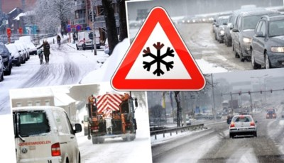 15 centimeter sneeuw, en toch geen verkeerschaos: hoe komt dat? En was het thuiswerkalarm afgekondigd of niet?