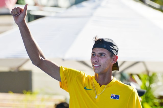 Davis Cup: Australië, Italië, Japan en Kazachstan naar eindfase