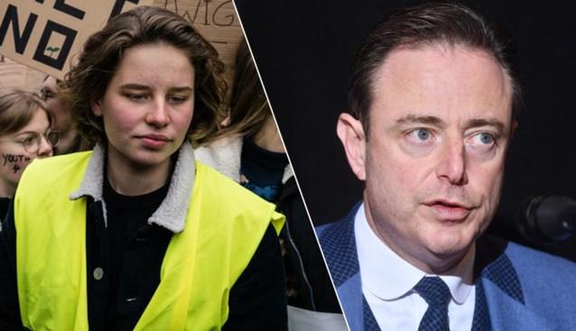 """Geen 'De Wever versus De Wever': klimaatactiviste Anuna (17) wil samenwerken met Bart. """"Het klimaat heeft geen politieke kleur"""""""