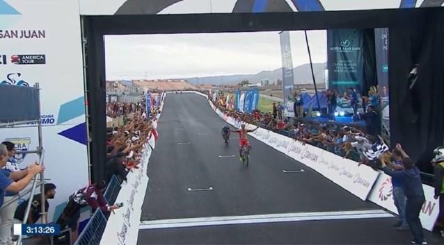 Drie Argentijnen verrassen peloton in Ronde van San Juan, Remco Evenepoel behoudt zijn trui