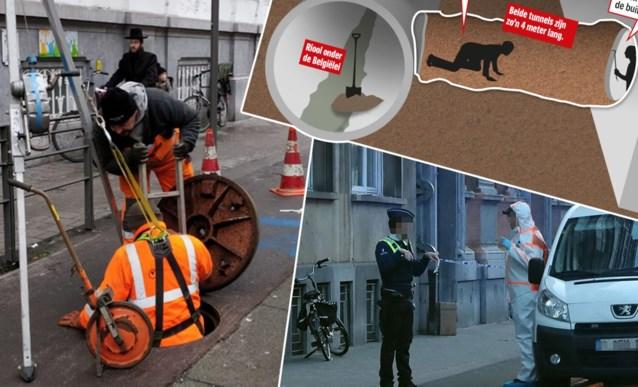 Bankkraak Antwerpen Inbrekers Kropen Met Gevaar Voor Eigen