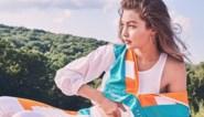 Gigi Hadid stelt haar collectie met Reebok voor