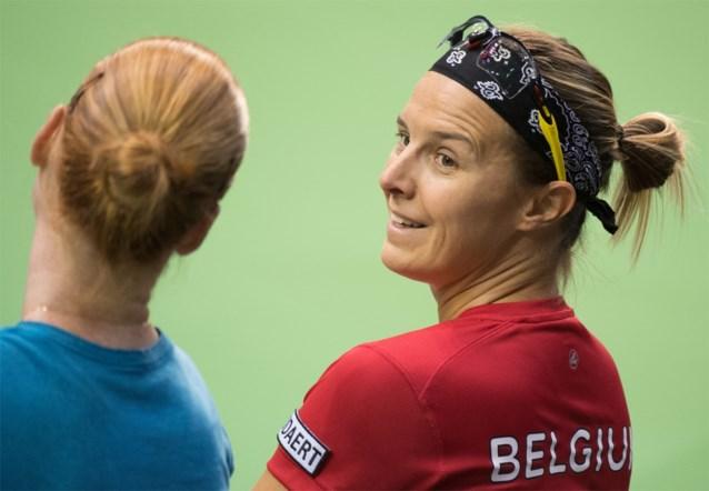 """Fed Cup: """"Het is fiftyfifty maar België heeft licht voordeel"""", Franse kapitein Benneteau"""