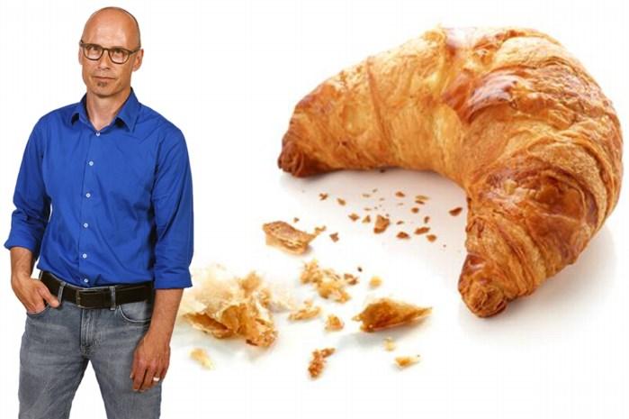 """""""Roger van Damme, de beste patissier ter wereld, probeert al drie jaar de perfecte croissant te bakken. Al drie jaar lukt dat maar niet"""""""