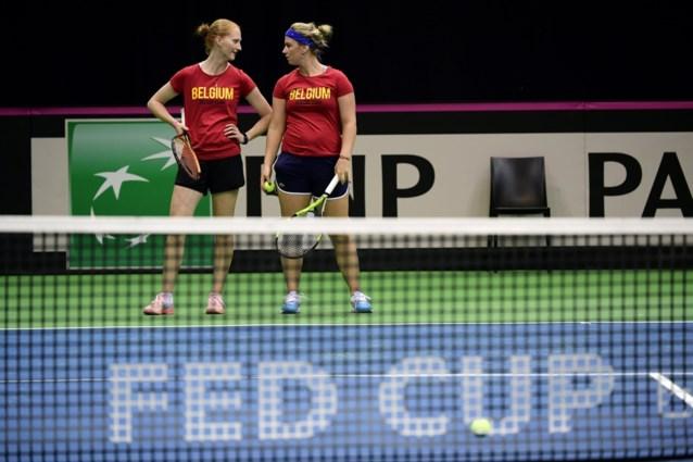 """Ysaline Bonaventure waarschuwt in Fed Cup: """"Françaises zijn sterker dan vorig jaar"""""""