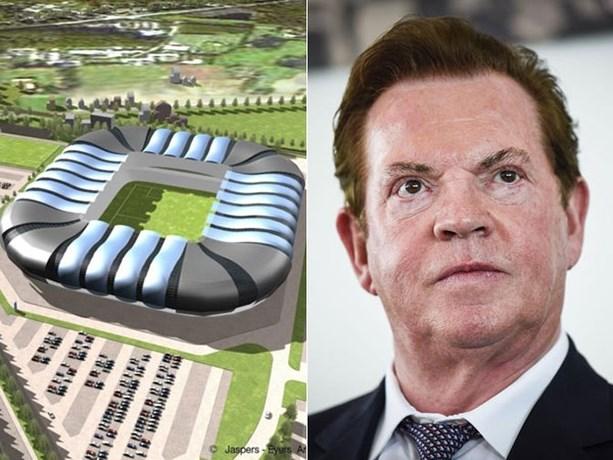 Leep plan om nieuw stadion Club Brugge toch te bouwen… rond eigendom van Antwerp-eigenaar Paul Gheysens heen