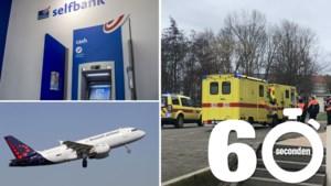 Mee in één minuut: dan toch niet betalen bij Bpost, annulaties bij Brussels Airlines en een ongeval met kokend water op school