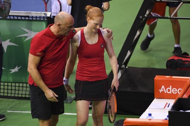 Alison Van Uytvanck kan Caroline Garcia niet verrassen: België moet achtervolgen in Fed Cup