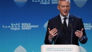 """Franse minister niet afgeschrikt door protest van 'gele hesjes': """"We zetten de hervormingen gewoon voort"""""""