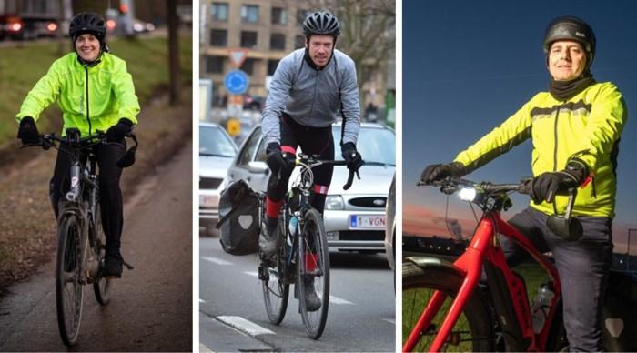 Dit zijn de échte flandriens: zij die door weer en wind elke dag met de fiets gaan werken