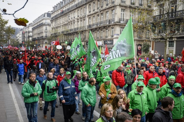 Nationale staking van woensdag kan 363 miljoen euro kosten aan onze economie