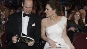 Kate Middleton en prins William mengen zich tussen de sterren op de Bafta Awards