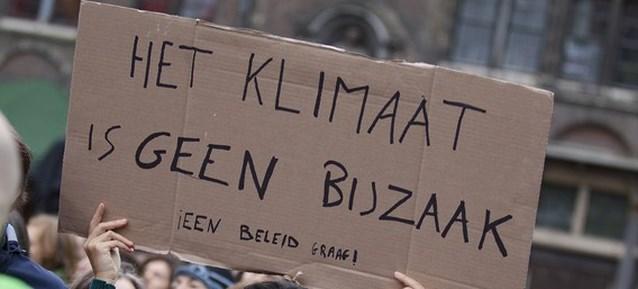 GO-campus houdt op Dikke Truiendag klimaatmars in Halle