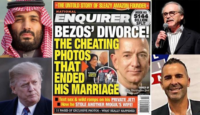 Elk zijn reden om Bezos te kijk te zetten: het verhaal achter het lek lijkt sappiger dan het gelekte verhaal zelf