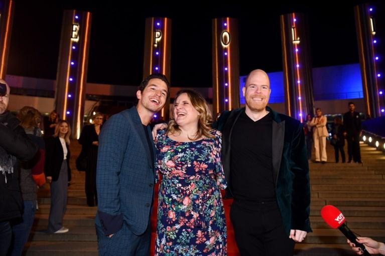 Oeps: Matteo Simoni maakt brokken bij aankomst op première 'Trio'
