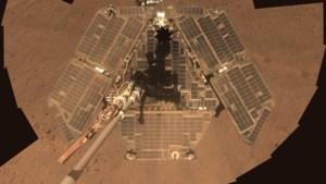 Missie van succesrijke Marsjeep Opportunity zit erop