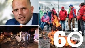 Mee in één minuut: de nationale staking, een zware crash op de E17 en Theo Francken onder vuur